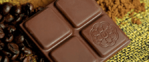 Pedaço de chocolate